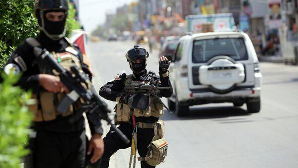 Members of Iraq's anti-terrorism force - Sputnik International