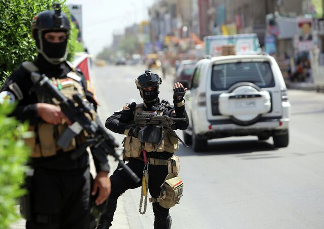Members of Iraq's anti-terrorism force