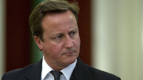 United Kingdom Prime Minister David Cameron - Sputnik International