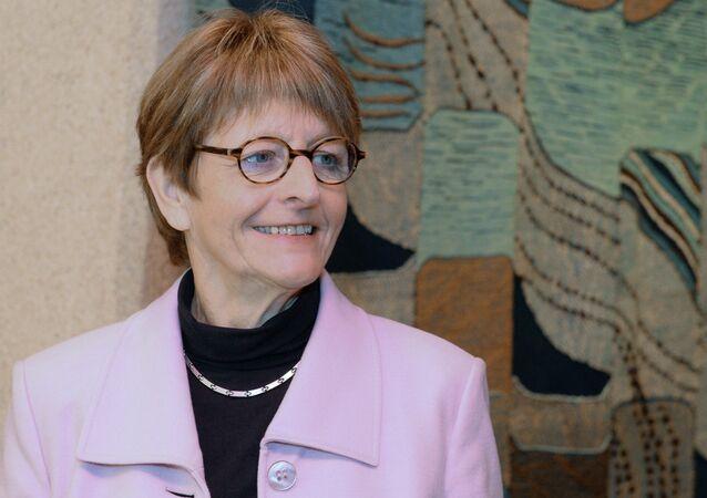 PACE President Anne Brasseur