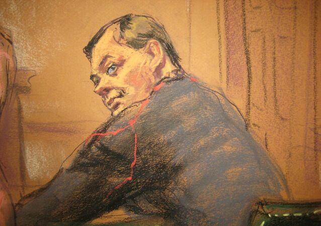Evgeny Buryakov sits in court in New York, January 26, 2015.