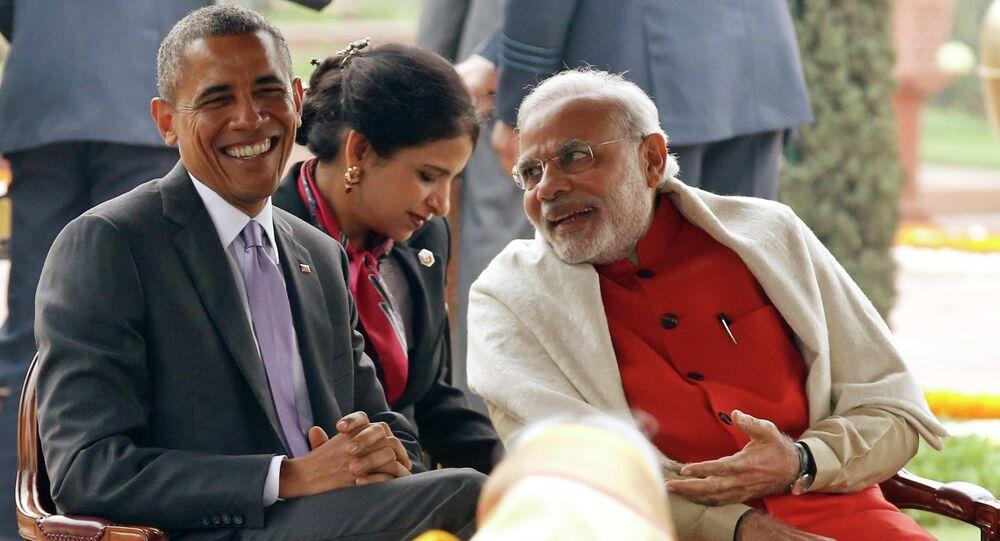President Barack Obama and Narendra Modi