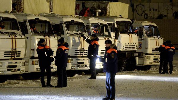 Humanitarian aid to Donbas - Sputnik International