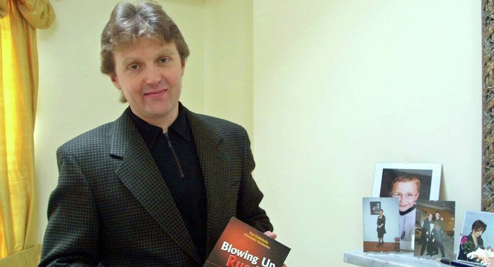 Alexander Litvinenko, former KGB spy and author of the book Blowing Up Russia: Terror From Within photographed at his home in London. (File)