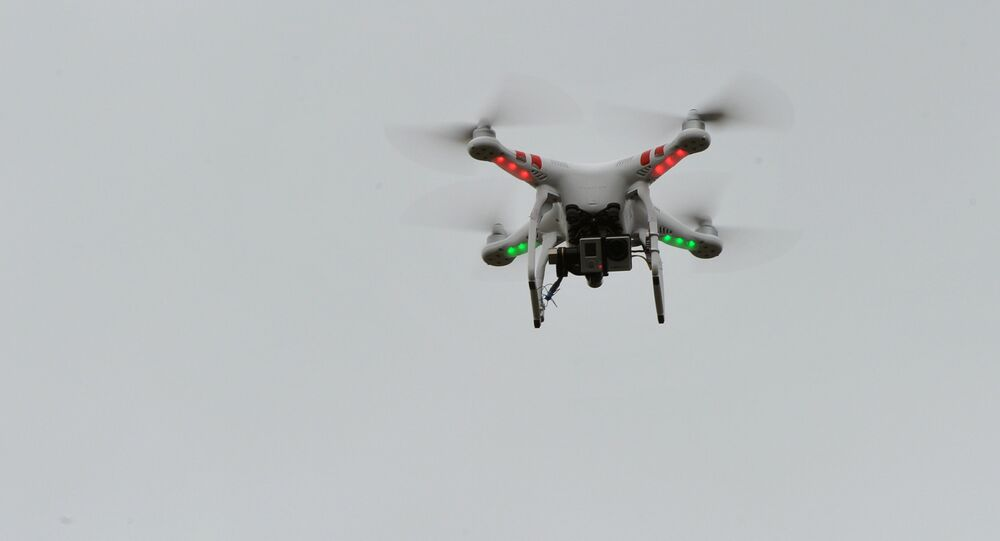 A four-engined unmanned aerial vehicle