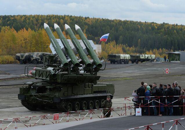 The Buk-M2E missile system