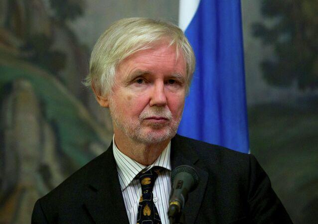 Former Finnish Foreign Minister Erkki Tuomioja.