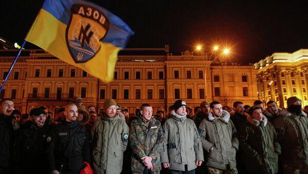 Azov battalion - Sputnik International