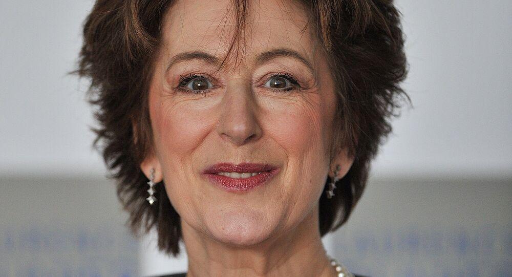 British actress Maureen Lipman