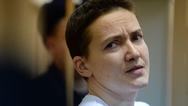 Ukrainian pilot Nadezhda Savchenko - Sputnik International