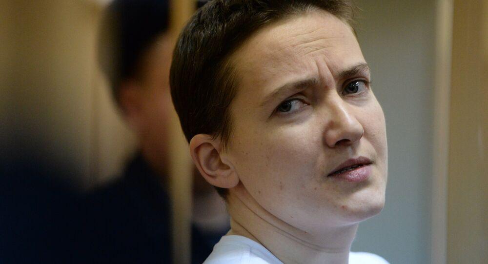 Ukrainian pilot Nadezhda Savchenko