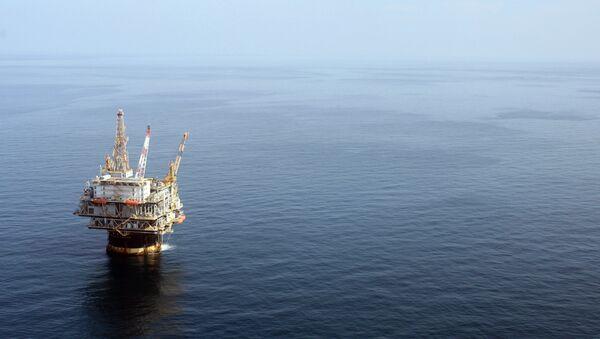 The Chevron Genesis Oil Rig Platform - Sputnik International
