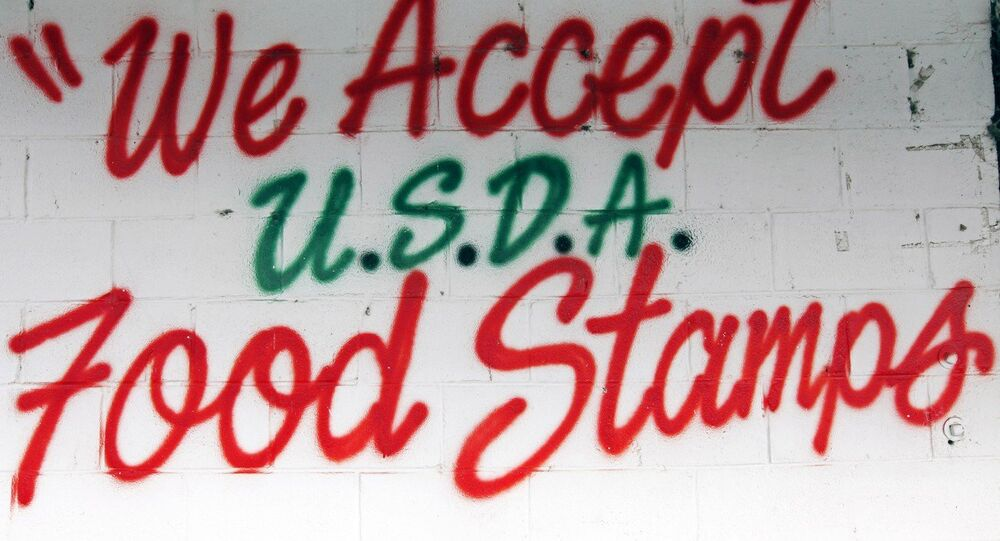 A roadside store located in Morgan County advertises that they excepts food stamps issued by Unites States Department of Agriculture