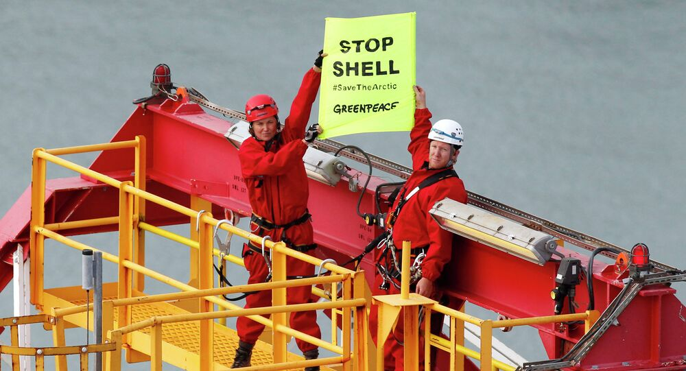 More than 13,000 people have signed a petition launched by Greenpeace to prevent the Anglo-Dutch energy company Shell from drilling on the remote Arctic coastline of Alaska