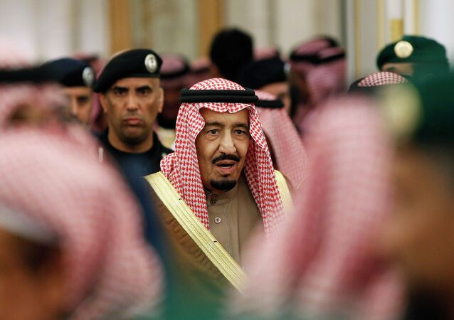 New Saudi King Salman attends a ceremony with world leaders offering their condolences following the death of the late Saudi King, Abdullah bin Abdulaziz, at the Diwan royal palace in Riyadh January 24, 2015