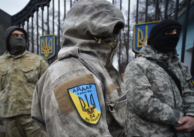 US antiwar activist Joe Iosbaker believes that US military assistance being provided to Ukraine will fall into the hands of extreme-right National Guard battalions operating in the east of the country.