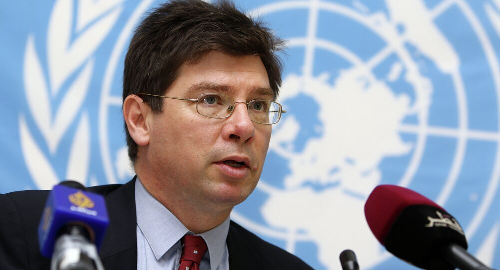 The United Nations Special Rapporteur on the human rights, Francois Crepeau