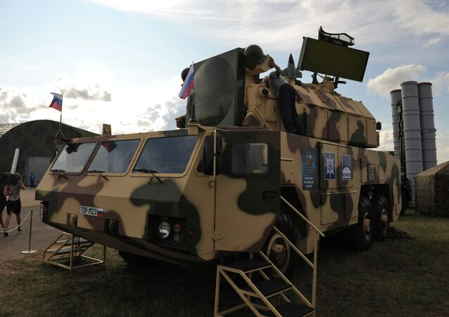 TOR-M2E anti-aircraft missile system