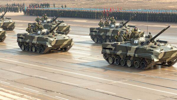 Боевые машины пехоты - БМП-3 - Sputnik International