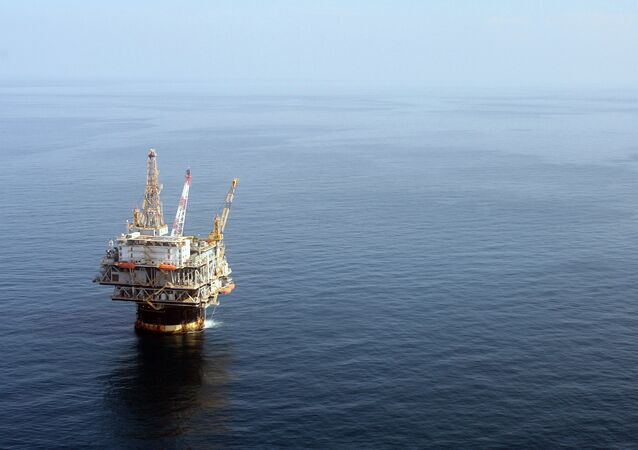 The Chevron Genesis Oil Rig Platform is seen in the Gulf of Mexico near New Orleans, La.