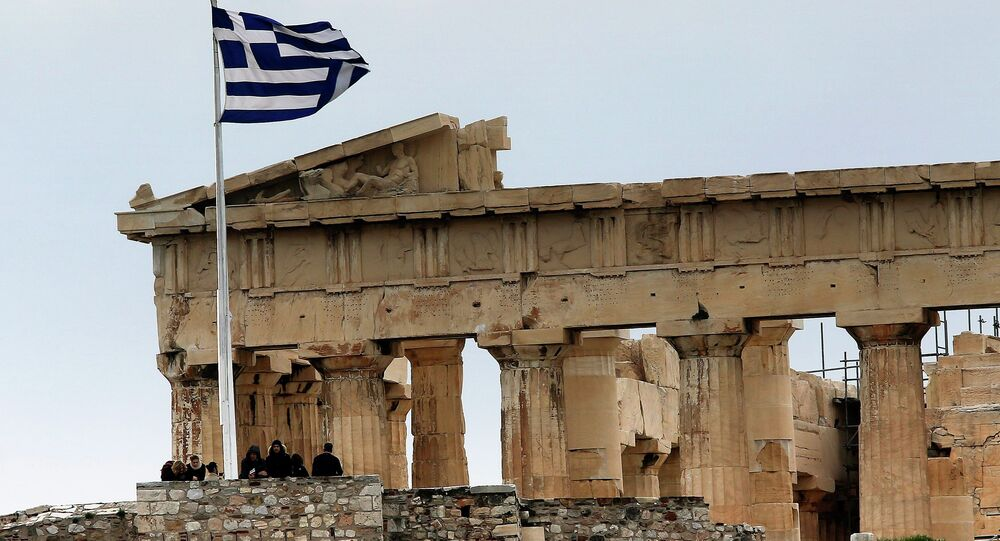 German Chancellor Angela Merkel ruled out any prospect of Greece receiving debt relief