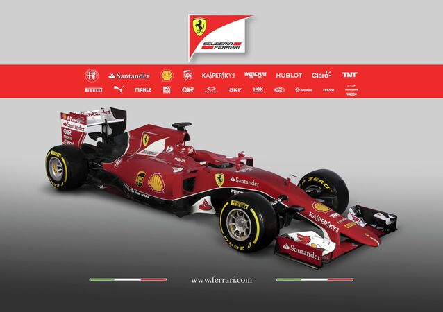 The new Ferrari Formula One SF15-T is seen in this undated handout image released January 30, 2015
