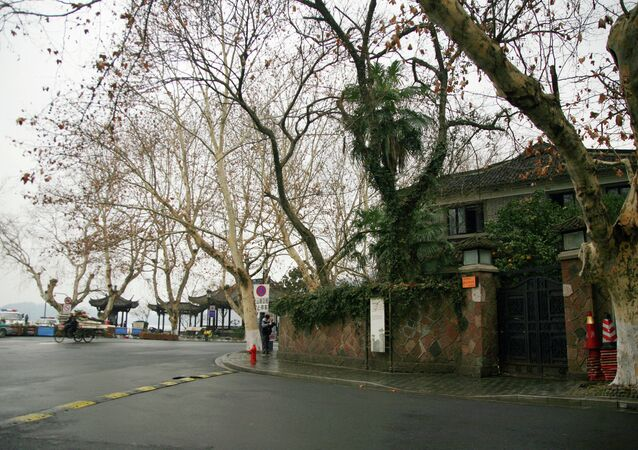 This picture taken on January 28, 2015 shows the former home of the late Taiwanese leader Chiang Ching-kuo