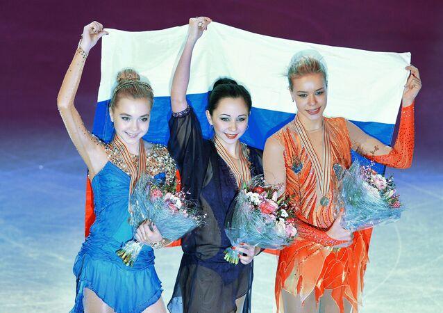 European Figure Skating Championships. Women's free program