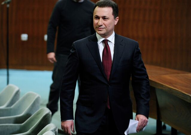 Macedonian Prime Minister Nikola Gruevski has accused a political opponent of plotting a coup against him.