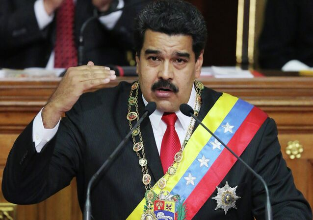 President Maduro excoriated ex-President George W. Bush and former Vice President Dick Cheney, calling them human rights abusers and terrorists and slapping them with entry bans.