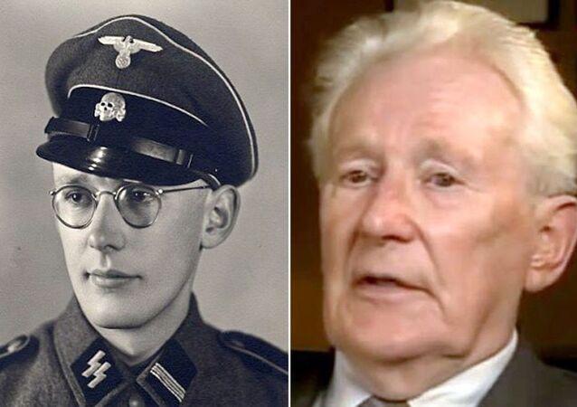 Former Nazi officer Oskar Groening