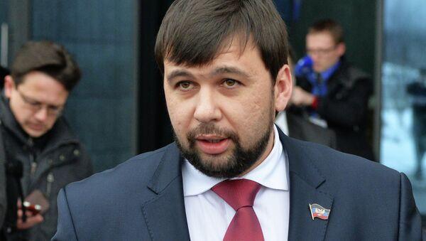 DPR and LPR leaders' press conference in Minsk Airport - Sputnik International