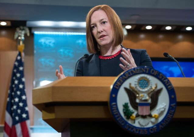 State Department spokesperson stated that the United States has openly worked with Ukrainian opposition on social and economic issues.