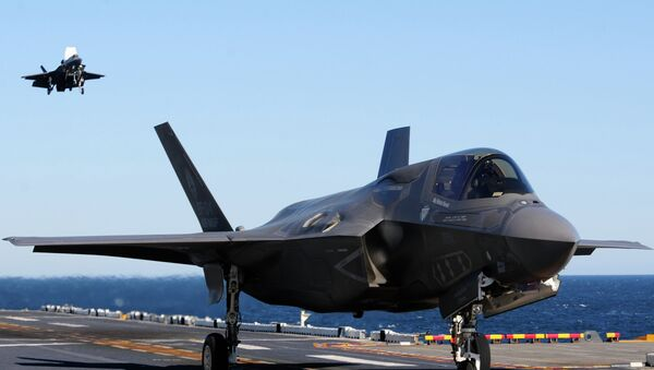 Lockheed's F-35 features some of the most advanced autopilot technology available. - Sputnik International