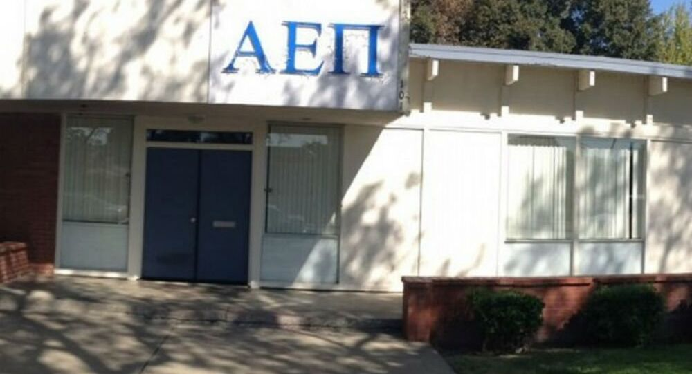 Brothers at a Jewish fraternity at the University of California at Davis awoke Saturday to find red swastikas spray-painted on their off-campus house.
