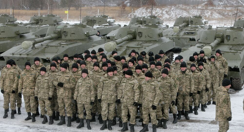 Former top US Pentagon official said at an Atlantic Council conference that US training for the Ukrainian military is underway
