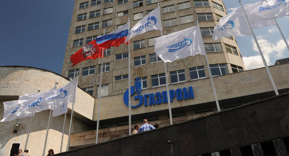 Russian energy giant Gazprom is discussing long-term loans with several banks, including in China and other Asian countries