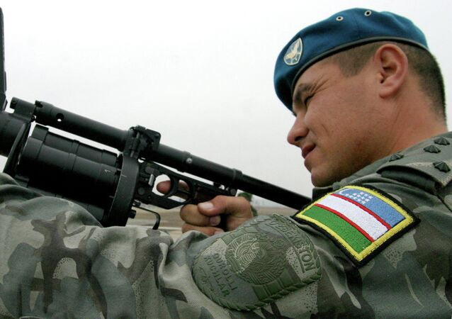 Uzbek Units Hold Anti-Terrorist Exercises