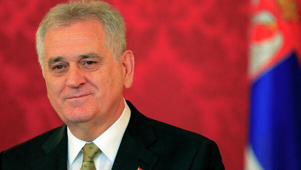 Serbian President Tomislav Nikolic - Sputnik International
