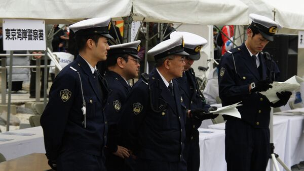 Japanese police - Sputnik International
