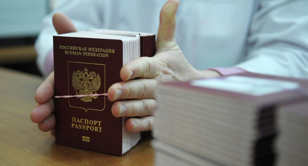 Russian Internal Passport