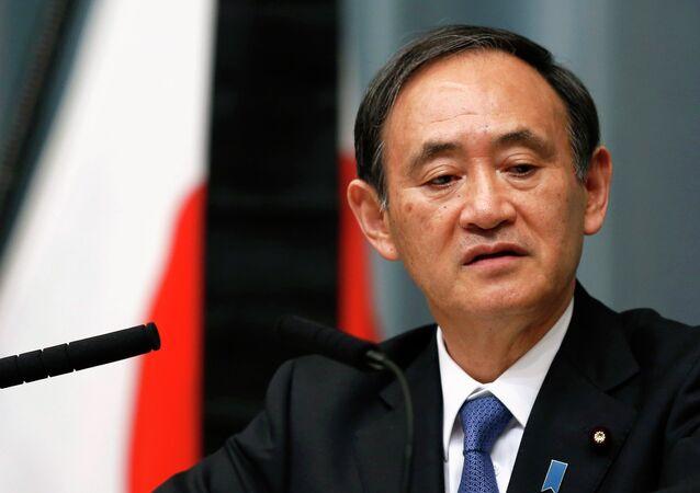 Japan's Chief Cabinet Secretary Yoshihide Suga