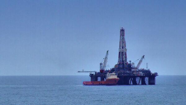 Offshore oil rig - Sputnik International