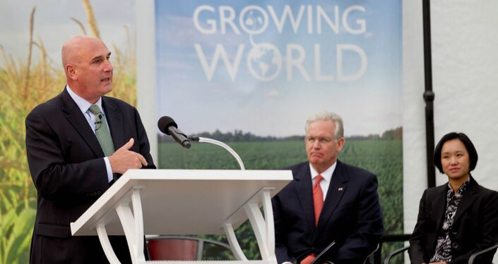 Monsanto CEO Hugh Grant says studies have shown no link between GMOs and adverse health effects.