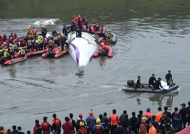 TransAsia Airways plane crash