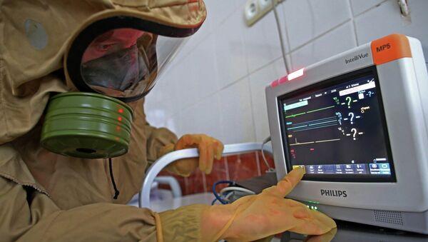 Ebola case response training - Sputnik International