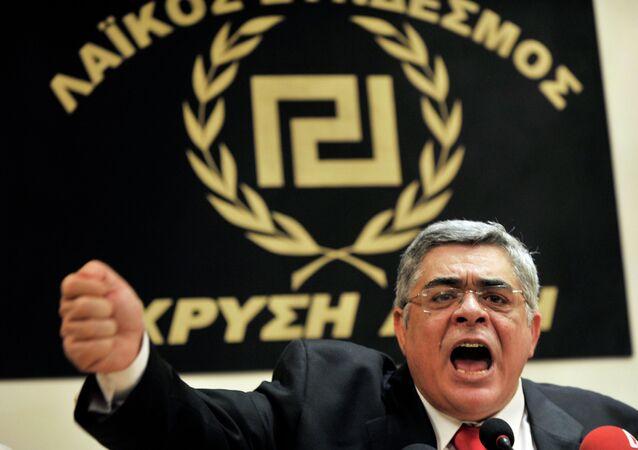 Golden Dawn leader Nikolaos Michaloliakos is in pre-trial detention