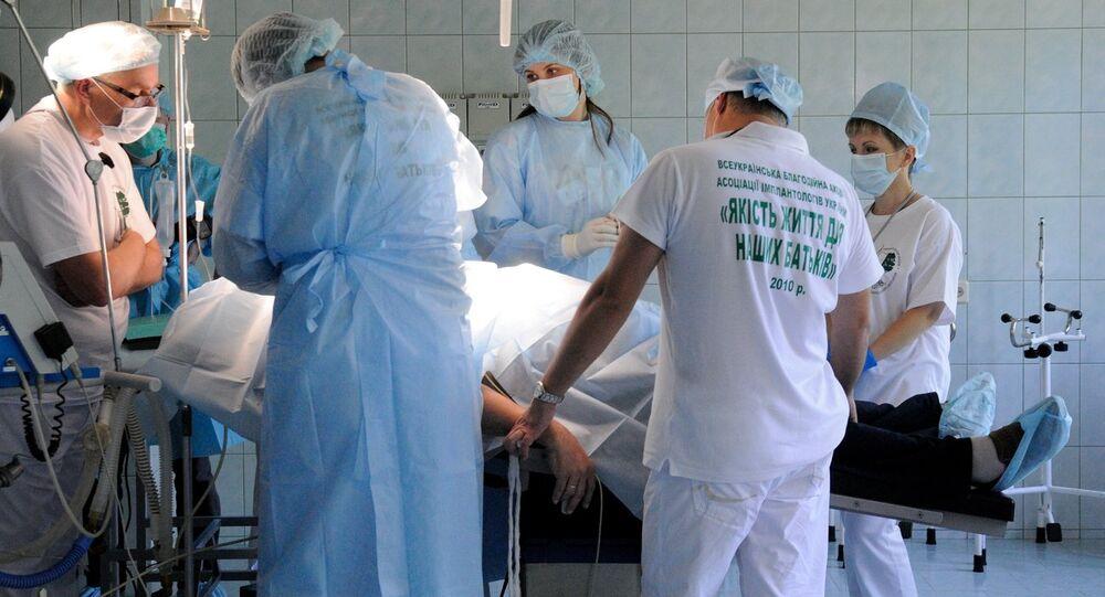 Ukrainian doctors