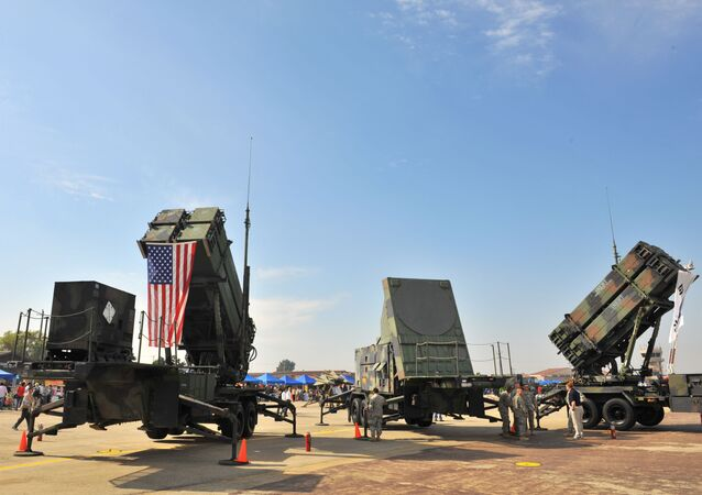 A US Army's Patriot Surface-to Air missile system