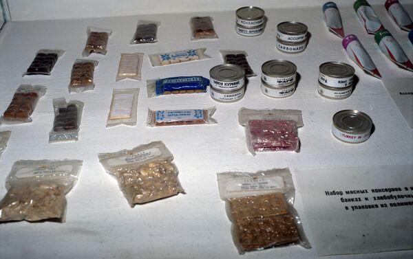 Packaged food used by Soviet cosmonauts - Sputnik International